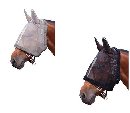Klettverschluss z Befestigung am Halfter Shetty//Pony netproshop Fliegenfransen m