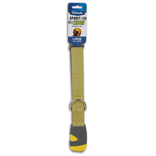 "Aspen Pet Products Petmate Reflective Sport Collar, Yellow, 1"" x 16-26"" von Pet Mate"