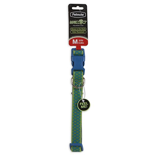 "Petmate GID Easy to Clean Green Grid Adjustable Leash, 3/4"" x 14-20"", Green Grid, Lime von Pet Mate"