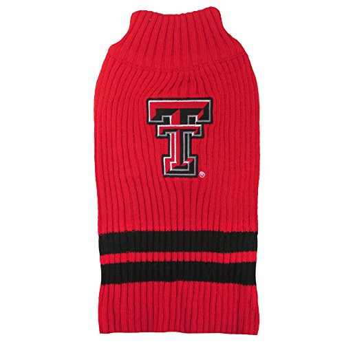 Pets First Haustier-Pullover, Texas Tech Red Raiders, Large, Texas Tech Red Raiders von Pets First