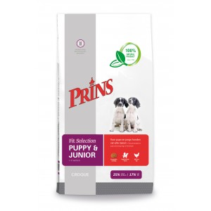 Prince Fit Selection Puppy & Junior Hundefutter 10 kg von Prins