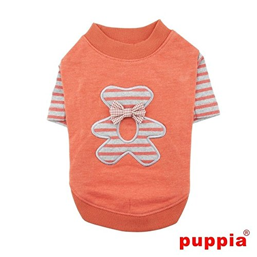 Puppia PAQD-TS1451 Teddy, Sweater, S, orange von Puppia