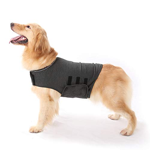 Qiraoxy Hund Angst Jacke Ruhiges Fell Thor Hundeabdeckung Lindert Angst Druck Haustier Tröstende Jacke Ruhige Emotionale Angst von Qiraoxy