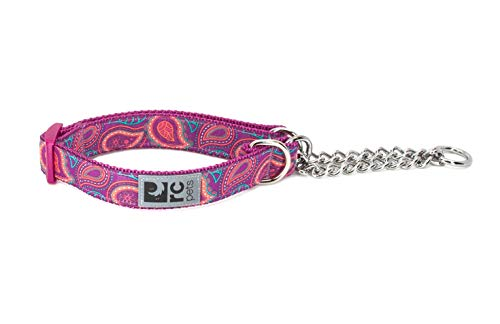 RC Pets Martingale-Trainings-Hundehalsband, 2,5 cm, Paisleymuster von RC Pet Products