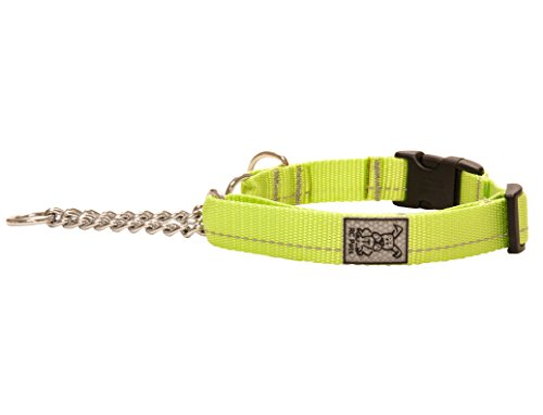 "RC Pet Products 1"" Primary Collection Martingale Dog Training Clip Collar, Large, Lime von RC Pet Products"