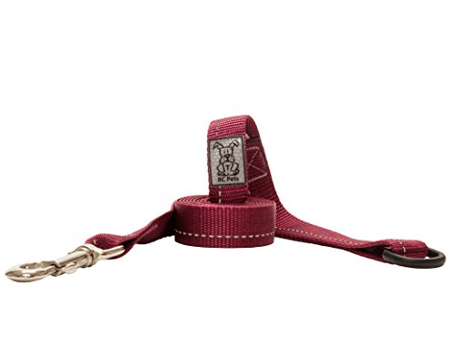 "RC Pet Products 1"" x 4' Primary Collection Dog Leash, Burgundy von RC Pet Products"
