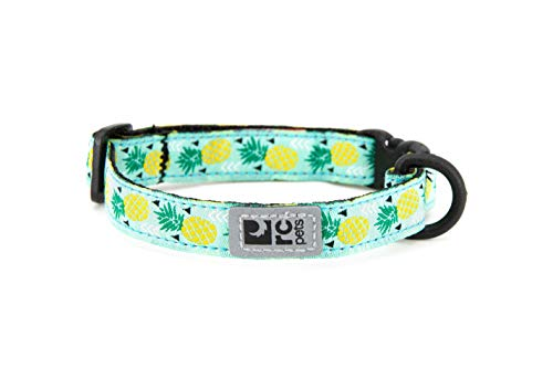 "RC Pet Products Kitty Breakaway Cat Collar, 1/2"", Pineapple Parade von RC Pet Products"