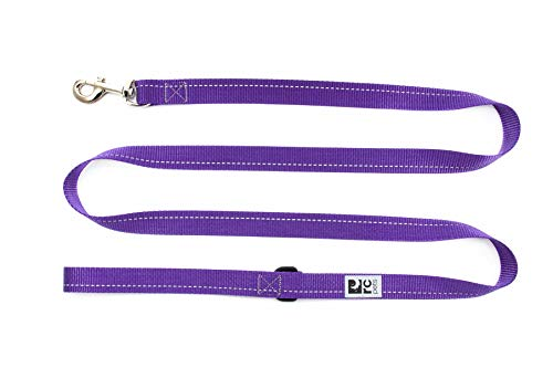 "RC Pet Products Primary Collection Dog Leash, 1"" x 6', Purple von RC Pet Products"
