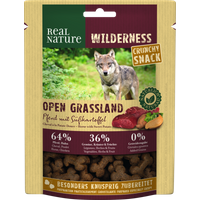 REAL NATURE WILDERNESS Crunchy Snack 225g Pferd mit Süßkartoffel von REAL NATURE
