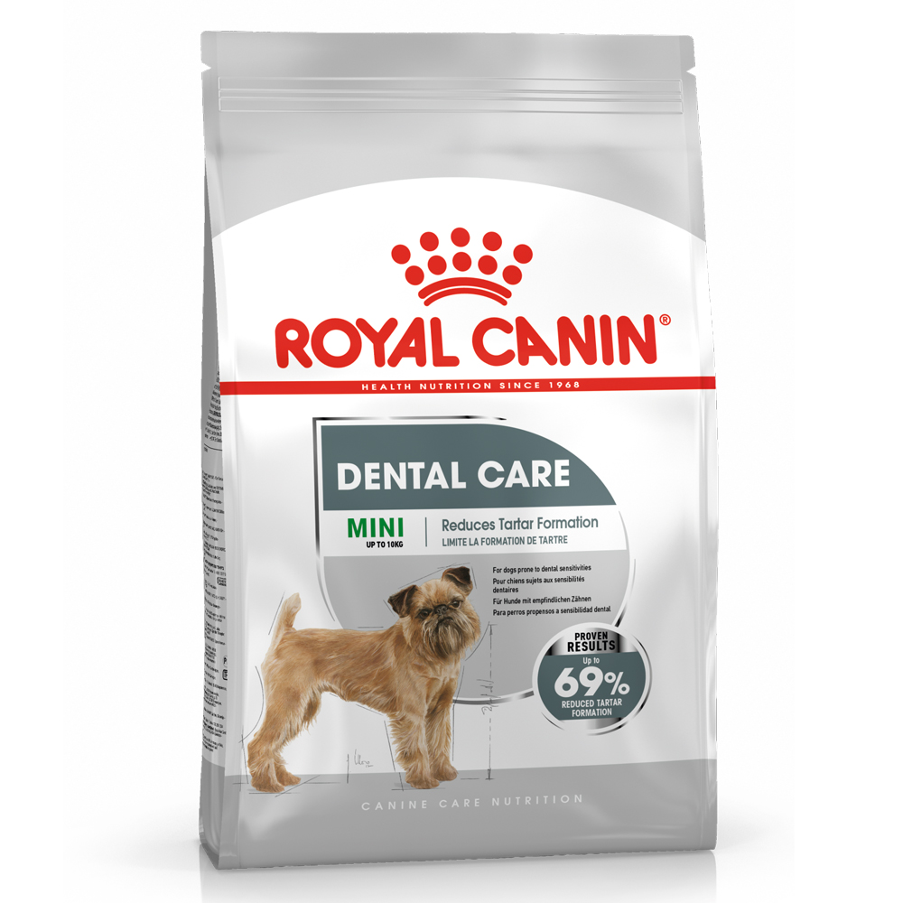 Royal Canin CCN Dental Care Mini - Sparpaket: 2 x 8 kg von Royal Canin Care Nutrition