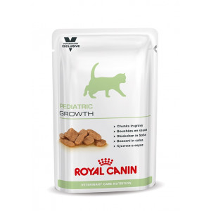 Royal Canin VCN Pediatric Growth Pouch Katzenfutter 4 x 12 Beutel von Royal Canin Veterinary Care