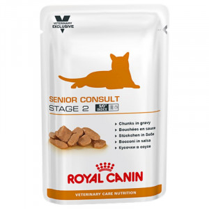 Royal Canin VCN Senior Consult Stage 2 Pouch Katzenfutter 2 x 12 Beutel von Royal Canin Veterinary Care