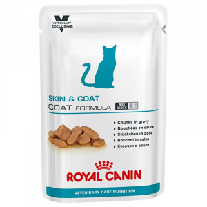 Royal Canin VCN Skin & Coat Pouch Katzenfutter 4 x 12 Beutel von Royal Canin Veterinary Care