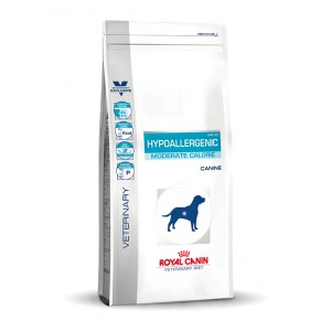 Royal Canin Hypoallergenic Moderate Calorie Hundefutter 2x 1,5kg von Royal Canin Veterinary Diet