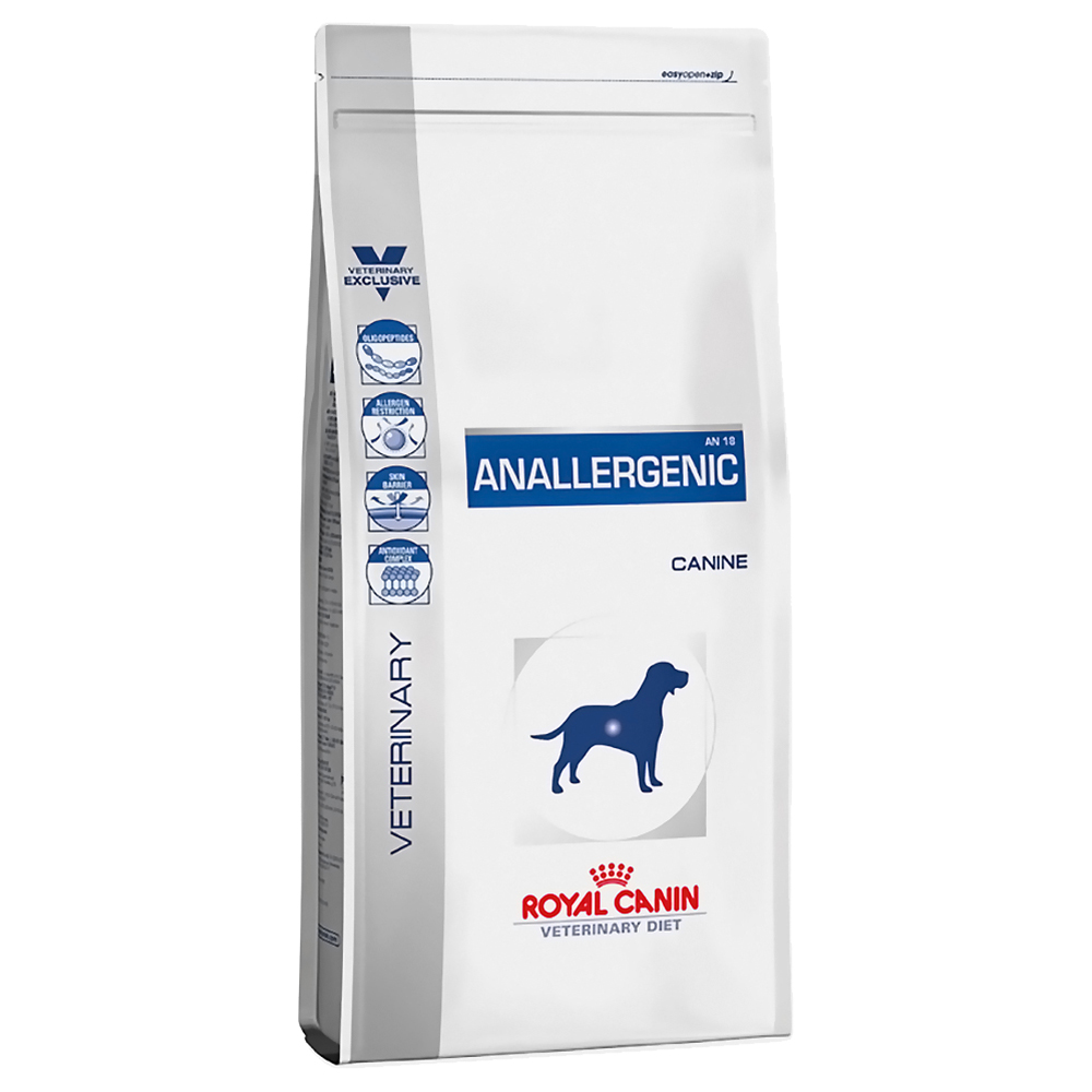Royal Canin Veterinary Diet Canine Anallergenic - 8 kg von Royal Canin Veterinary Diet