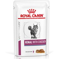 Sparpaket Royal Canin Veterinary Diet 24 x 100/85/195 g - Renal Huhn (24 x 85 g) von Royal Canin Veterinary Diet