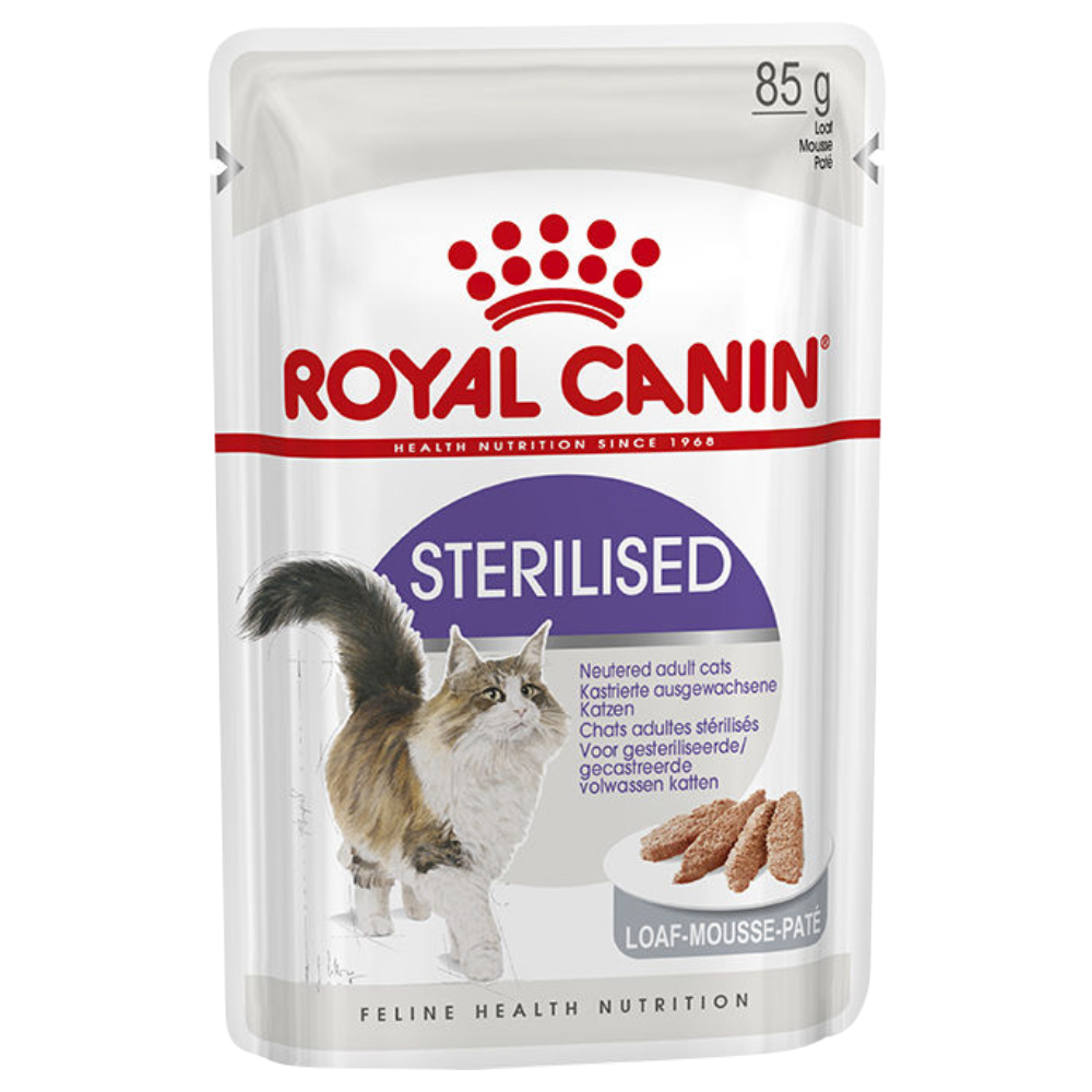 Sparpaket Royal Canin 96 x 85 g - Sterilized Mousse von Royal Canin