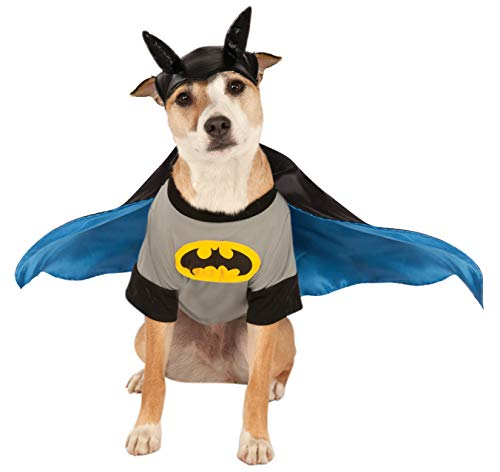 DC Comics Pet Costume, Small, Batman von Rubie's