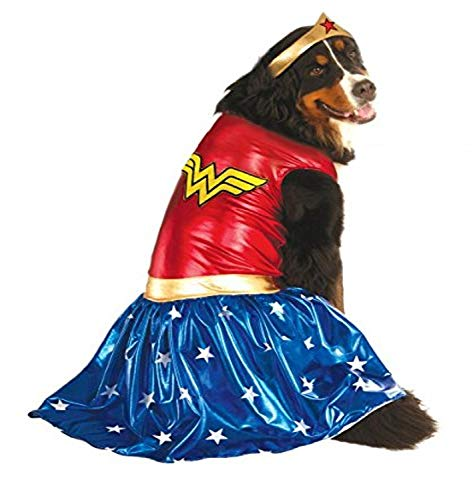 Rubie's Big Dog Wonder Woman Hundekostüm von Rubie's