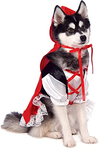 Rubie's Red Riding Hood Pet Costume, X-Small von Rubie's