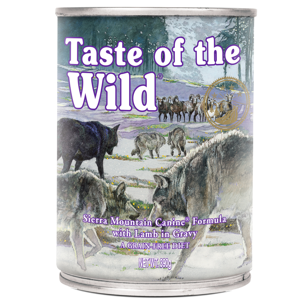 Taste of the Wild Sierra Mountain - 12 x 390 g von Taste of the Wild