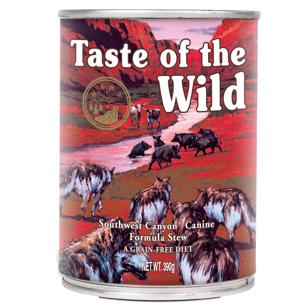 Taste of the Wild Southwest Canyon - 390 g von Taste of the Wild