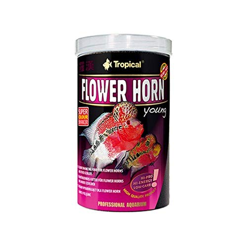 Tropical Flower Horn Young Pellet, mit Vitamin C, 1er Pack (1 x 250 ml) von Tropical