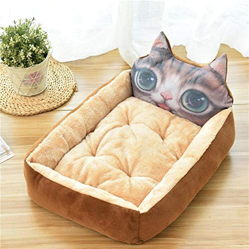 WTMLK 2020 Pet Dog Bed Mats Animal Cartoon Shaped for Large Dogs Pet Sofa Kennels Cat House Dog Pad Teddy Mats Big Blanket Supplies,H,50X40X12CM von WTMLK