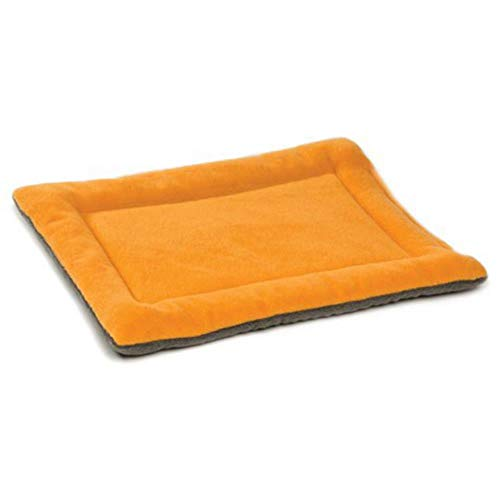 WTMLK Soft Mat Dog Bed Coral Fleece Thicken Warm Sofa Couch Cover Pet Puppy Sleeping Pad Blanket for Small Medium Cat Dogs Accessories,Orange,104x71x3 cm von WTMLK