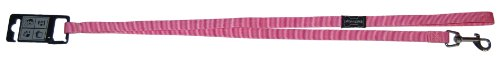 Wouapy Hundeleine Basic Line, 3 Positionen, 25 mm x 2 m, Rosa von Wouapy