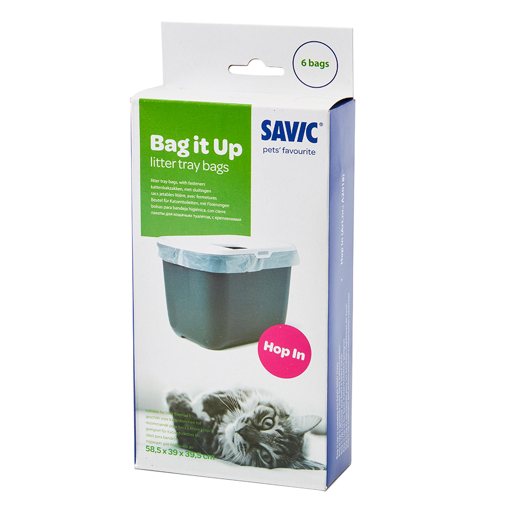 Savic Bag it Up Litter Tray Bags - Hop In - 6 Stück von savic